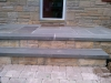 Paver walkway with Bluestone Stoop