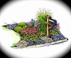 landscaping around mailbox post. Creating A Mailbox Garden Landscaping Around Post