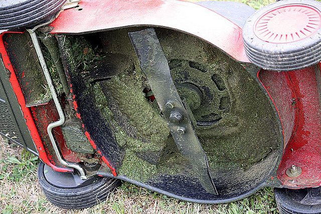 Winterize your lawn equipment when you put it away in storage